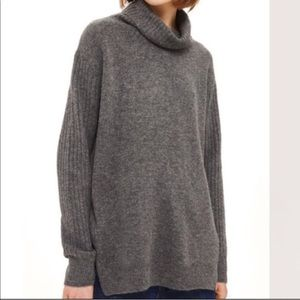 Topshop cowl neck pullover sweater